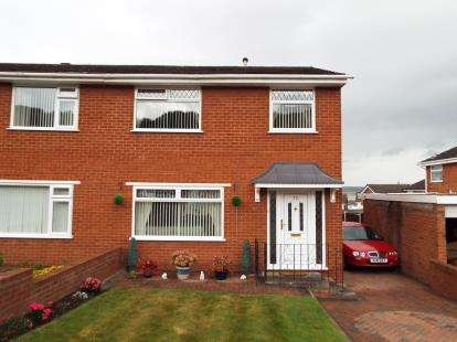 3 Bedrooms Semi Detached House for sale in Deans Close, Bagilt, Flintshire, CH6