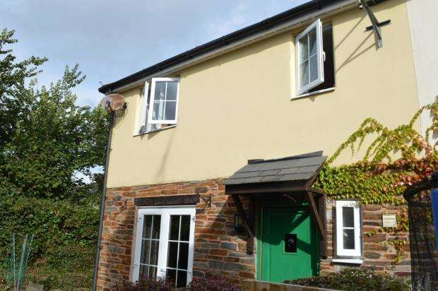 3 Bedrooms Semi Detached House for sale in Iter Park, Bow, Crediton, Devon