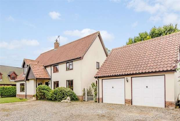 4 Bedrooms Detached House for sale in Church Lane, Thwaite, Eye, Suffolk