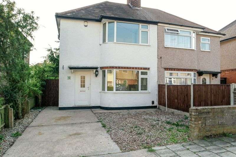 2 Bedrooms Semi Detached House for sale in Mayfair Avenue, Mansfield