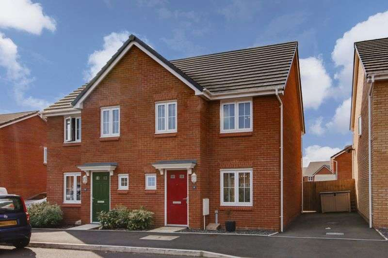 3 Bedrooms Semi Detached House for sale in Clos Honddu, Newport
