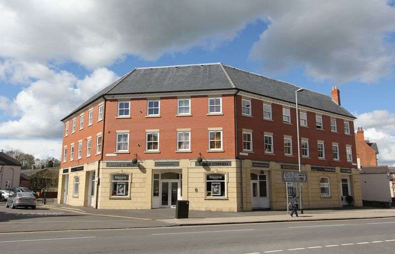 1 Bedroom Flat for sale in Castlegate House, Bath Street, Ashby-De-La-Zouch, Leicestershire LE65 2FH