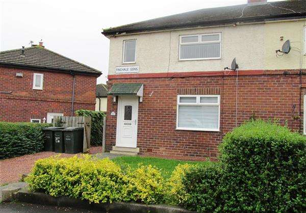 3 Bedrooms Semi Detached House for sale in Finchale Gardens, Newcastle upon Tyne