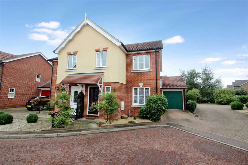 4 Bedrooms Semi Detached House for sale in Marcus Close, Myland, Colchester
