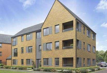 2 Bedrooms Flat for sale in Stony Manor, Carters Lane, Kiln Farm, Milton Keynes