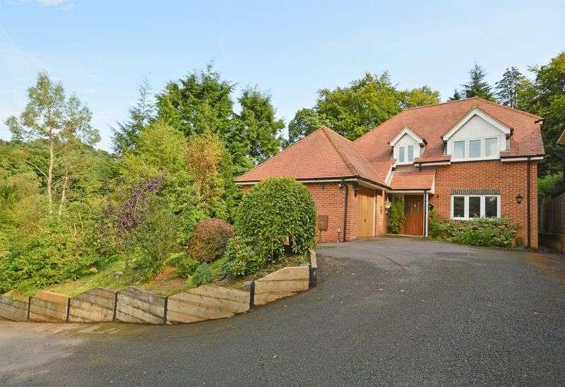 4 Bedrooms Detached House for sale in Hurstmere Close, Grayshott