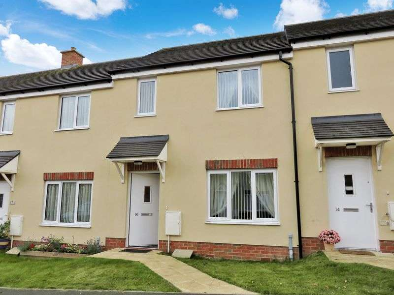 2 Bedrooms Terraced House for sale in Beckington Crescent, Chard