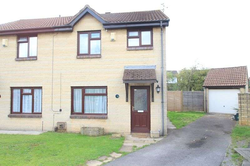 3 Bedrooms Semi Detached House for sale in Kennmoor Close Warmley Bristol