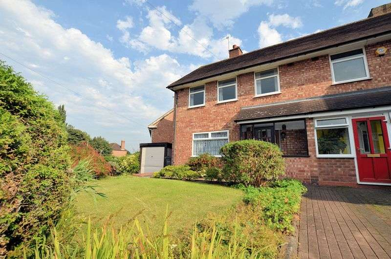 3 Bedrooms Semi Detached House for sale in Wedgewood Road, Quinton
