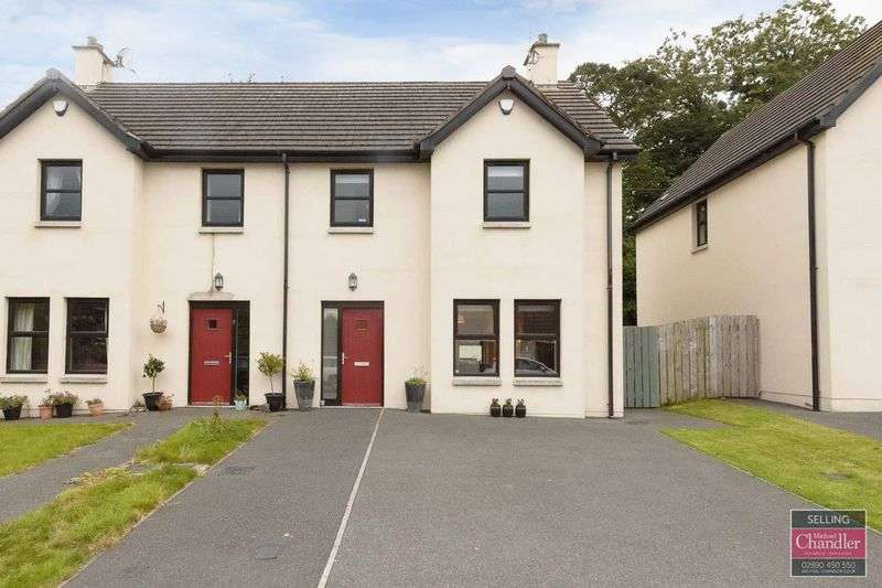 3 Bedrooms Semi Detached House for sale in 2 Cotswold Close, Saintfield, BT24 7FQ