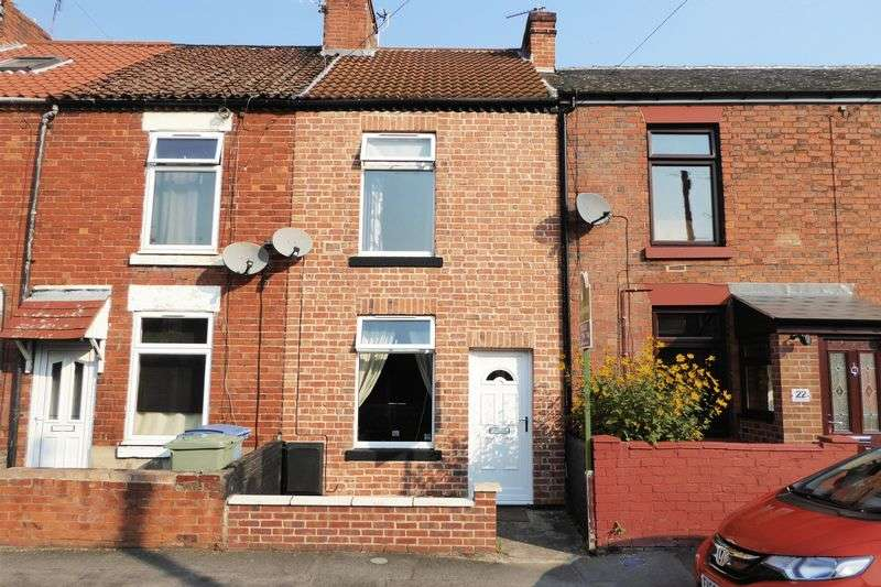 2 Bedrooms Terraced House for sale in Whitehall Road, Retford