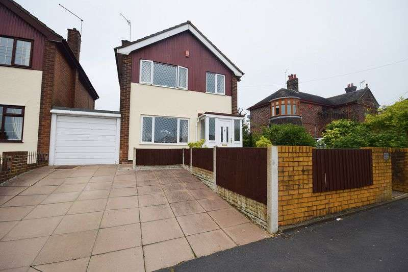 3 Bedrooms Detached House for sale in Ford Green Road, Norton