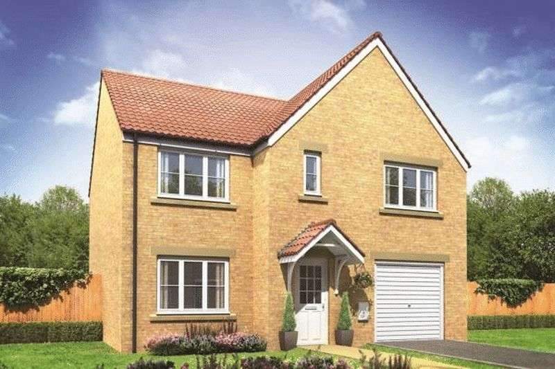 4 Bedrooms Detached House for sale in The Warwick - Kingsbury Meadows, Wakefield , WF1 2UJ