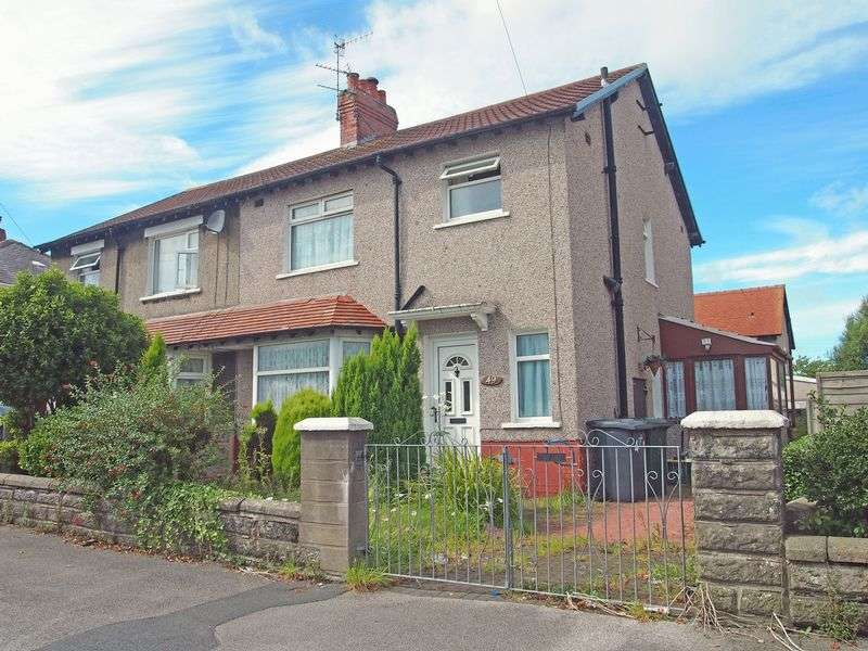 3 Bedrooms Semi Detached House for sale in Buckingham Road, Morecambe