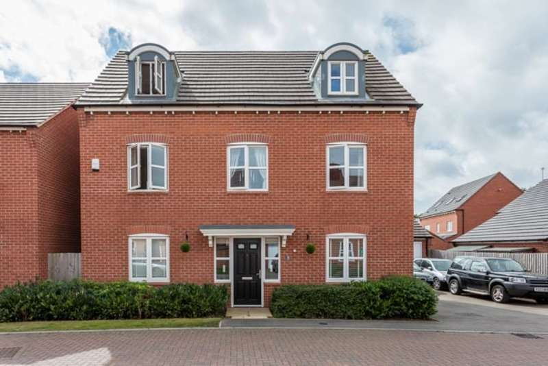 6 Bedrooms Detached House for sale in Horseshoe Close, Ibstock, Leicestershire, LE67