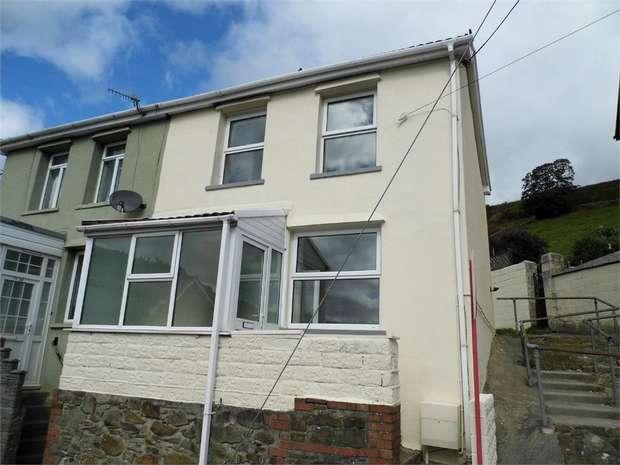 2 Bedrooms Semi Detached House for sale in Mount Pleasant, Blaengarw, Bridgend, Mid Glamorgan