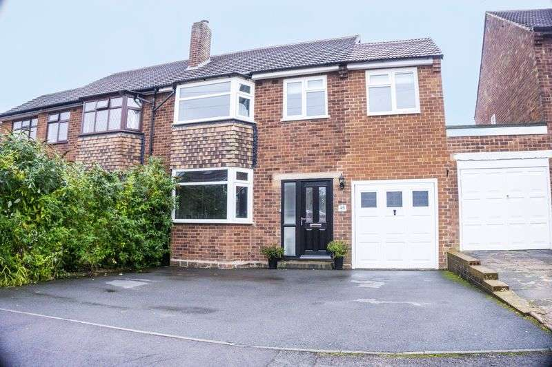 3 Bedrooms Semi Detached House for sale in Weston Crescent, Aldridge, Walsall
