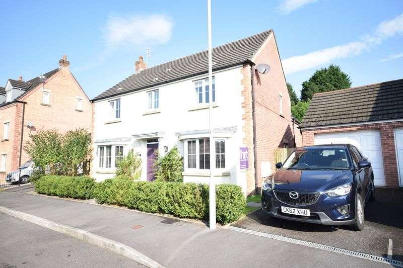 4 Bedrooms Detached House for sale in 23 Leyshon Way, Bryncethin, Bridgend CF32 9AZ