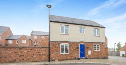 3 Bedrooms Detached House for sale in Nine Riggs Square, Birstall, Leicester, Leicestershire