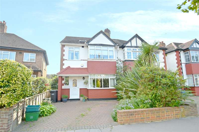 4 Bedrooms Semi Detached House for sale in Ash Tree Way, Croydon