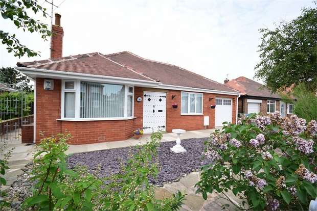 2 Bedrooms Detached Bungalow for sale in 15 Caryl Road, LYTHAM ST ANNES, Lancashire