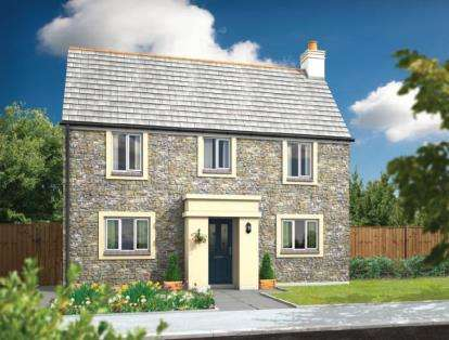3 Bedrooms Semi Detached House for sale in Bodmin