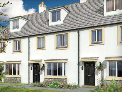 3 Bedrooms Terraced House for sale in Dunmere Road, Bodmin