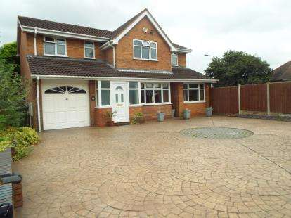 5 Bedrooms Detached House for sale in Avill, Hockley, Tamworth, Staffordshire