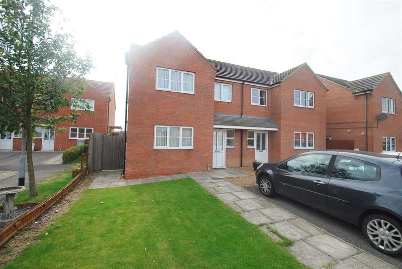 2 Bedrooms Semi Detached House for sale in Ripon Close, Winthorpe