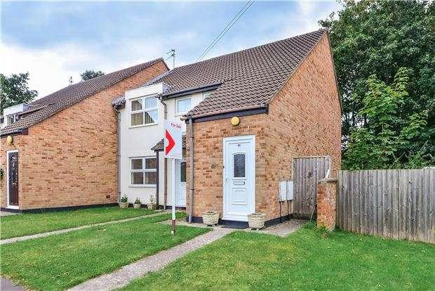 2 Bedrooms Flat for sale in Gainsborough Road, Keynsham, BRISTOL, BS31 1LS