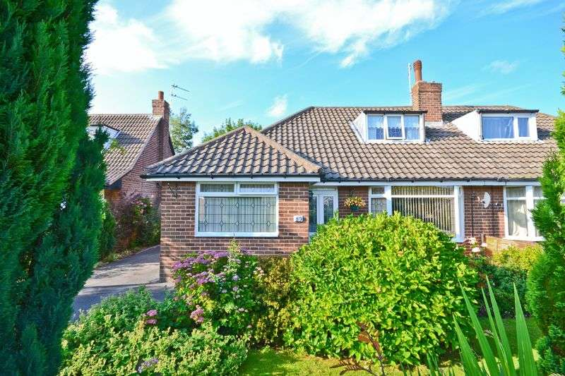 3 Bedrooms Semi Detached Bungalow for sale in The Serpentine, Aughton, Ormskirk