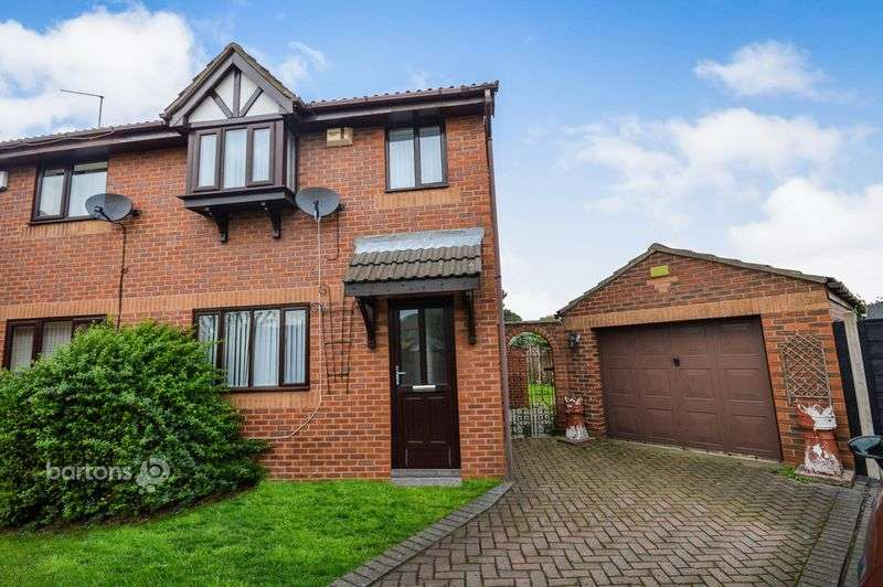 3 Bedrooms Semi Detached House for sale in Clough Green, Rotherham