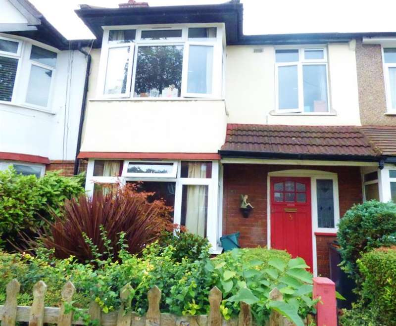 3 Bedrooms Terraced House for sale in Clayponds Avenue, Brentford, Middlesex, TW8 9QQ