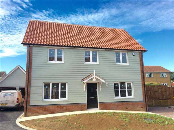 4 Bedrooms Detached House for sale in Plot D, Angel Place, Bramford, Bramford
