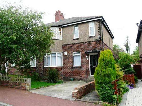 3 Bedrooms Flat for sale in Castleside Road, Newcastle upon Tyne