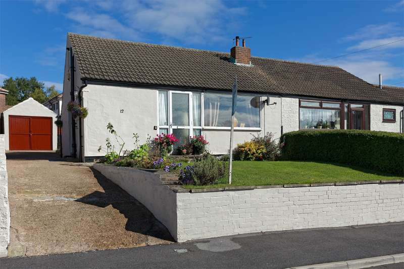 2 Bedrooms Semi Detached Bungalow for sale in Crawshaw Rise, Pudsey, Leeds, West Yorkshire, LS28