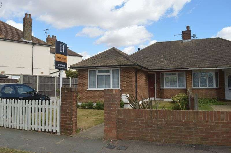 2 Bedrooms Semi Detached Bungalow for sale in Hillborough Road, Westcliff-On-Sea, Essex, SS0