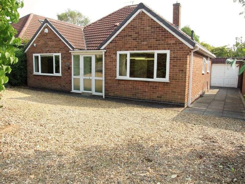 3 Bedrooms Detached Bungalow for sale in Rydal Avenue, Loughborough