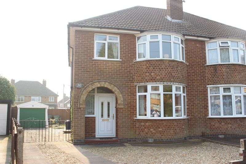 3 Bedrooms Semi Detached House for sale in Highgate Avenue, Birstall, Leicester
