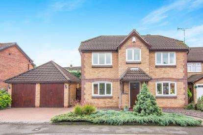 4 Bedrooms Detached House for sale in Simmonds Way, Atherstone, Warwickshire