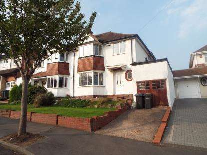 3 Bedrooms Semi Detached House for sale in Law Cliff Road, Birmingham, West Midlands
