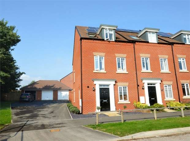 3 Bedrooms End Of Terrace House for sale in Myrtlebury Way, Rougemont Park, EXETER, Devon