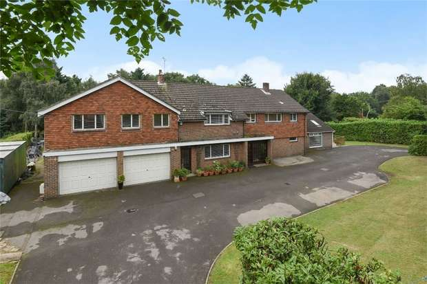7 Bedrooms Detached House for sale in Chilworth, Southampton, Hampshire