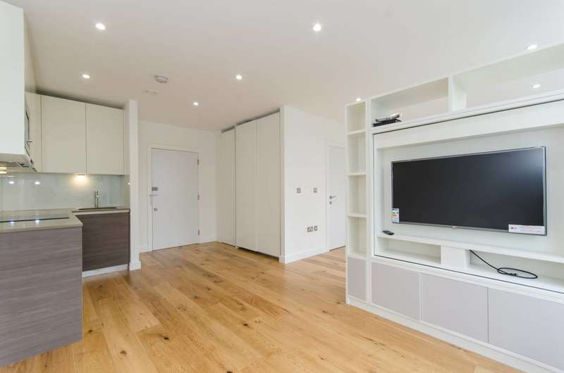 Studio Flat for sale in Lampton Road, Hounslow, TW3