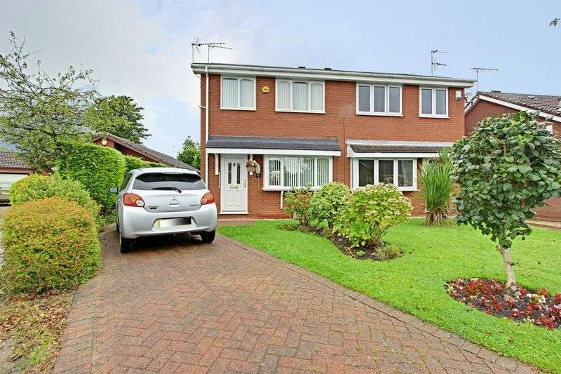 3 Bedrooms Semi Detached House for sale in Nunburnholme Park, Hull