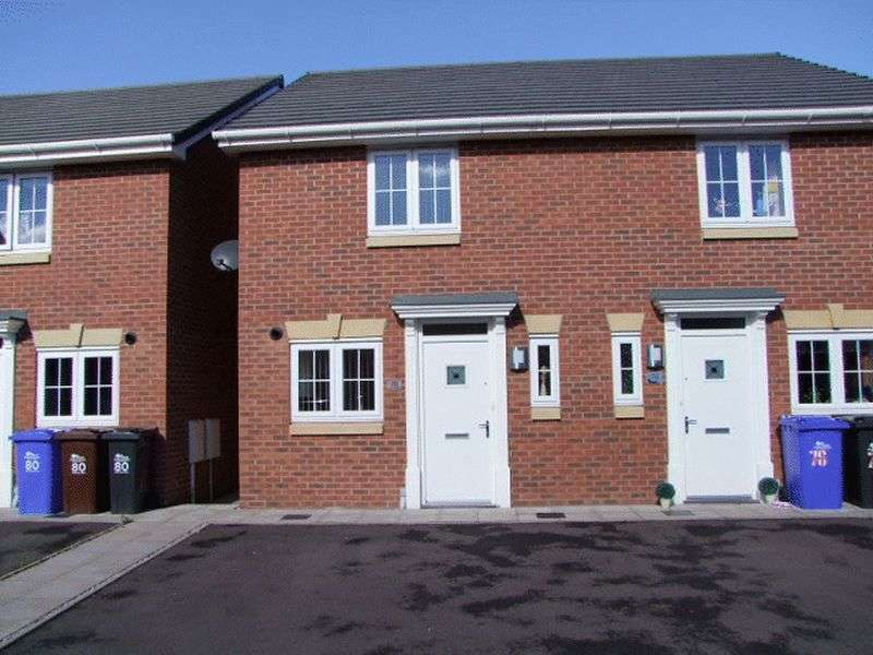 2 Bedrooms Semi Detached House for sale in Saw Mill Way, Burton