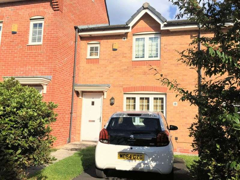 3 Bedrooms Terraced House for sale in Corn Mill Drive, Farnworth