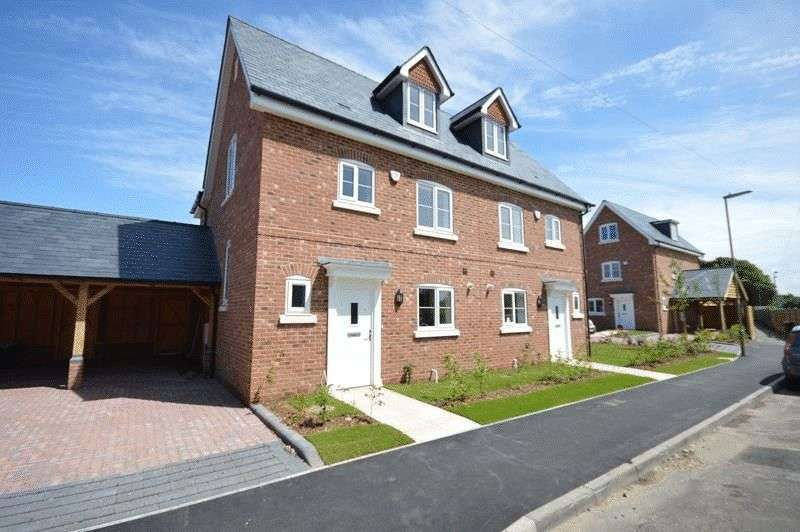 4 Bedrooms Semi Detached House for sale in The Pavilions, Avenue Road, Lymington