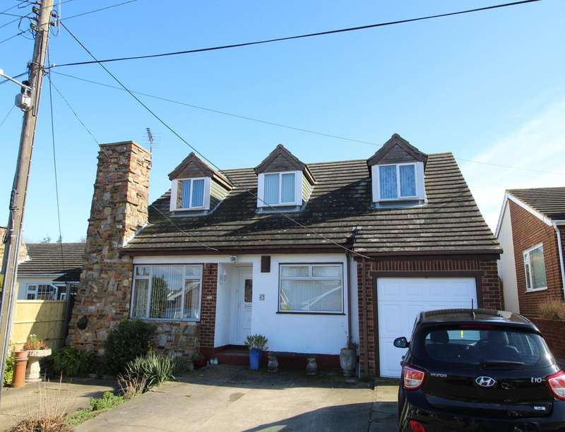 4 Bedrooms Detached Bungalow for sale in Princes Avenue, Minster On Sea, Sheerness, ME12
