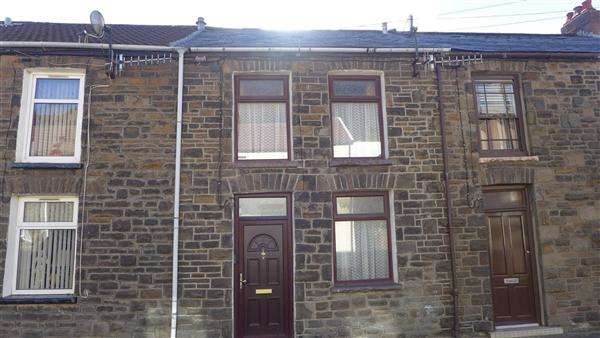 2 Bedrooms Terraced House for sale in Miskin, Trealaw